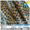 2015 New Shoe Material PU Coating Leopard Microfiber Fabric For Shoe Bag And Cover