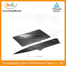 Triple-folding Foldable Portable Wholesale Credit Card Knife