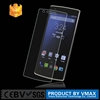 Mobile phones accessories 0.2mm +2.5D Anti- proof tempered glass screen protector for one plus two