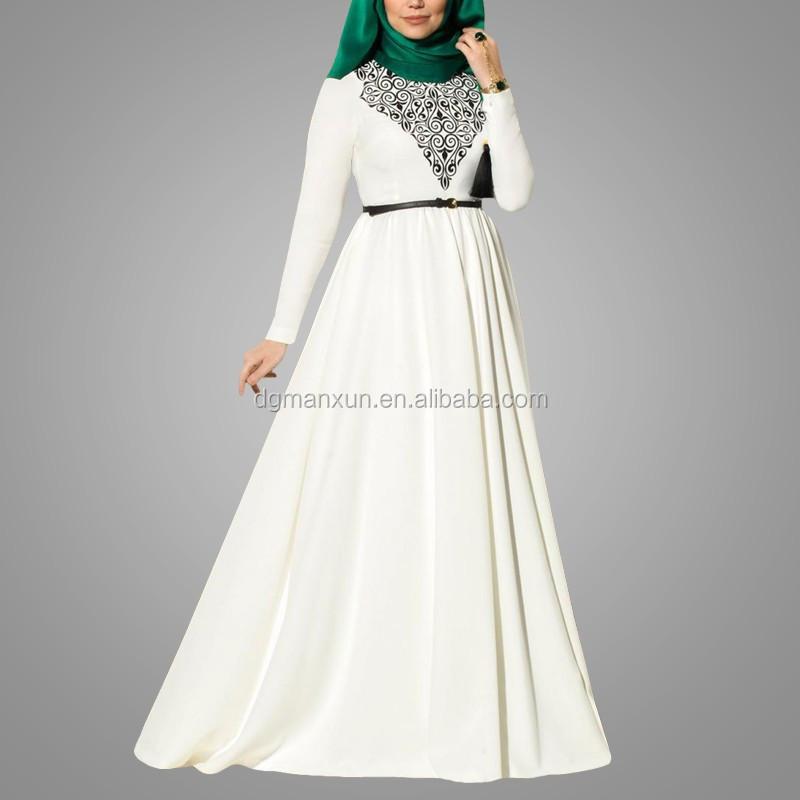 2016 Abayas Islamic Muslim Dresses For Women Long Dresses Malaysia Turkish Indonesia  Clothing  Muslims (2).jpg