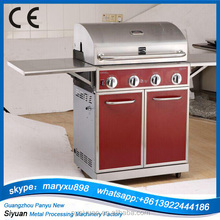 4 furnace barbecue grill made in China
