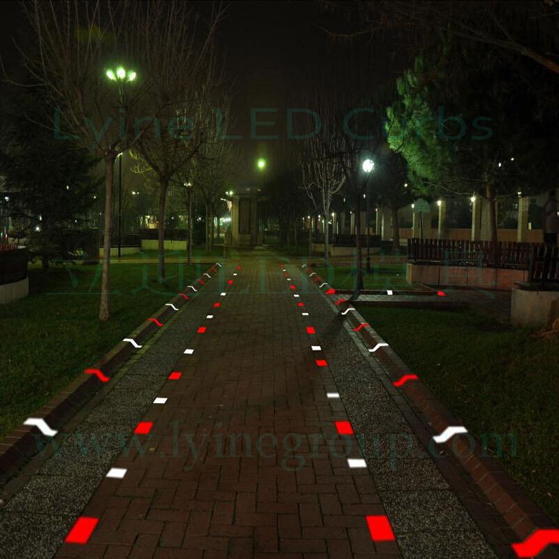 lyine brand safety traffic barrier parking housing estate garden