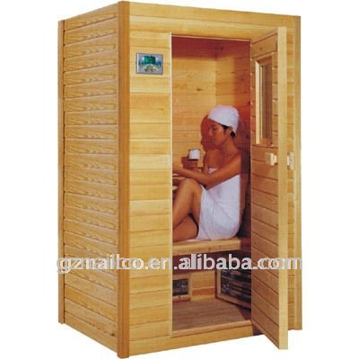 natural customizable wooden far infrared sauna dome mini. Black Bedroom Furniture Sets. Home Design Ideas