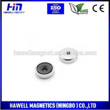2015 china made ferrite magnet, countersink magnet,pot manget