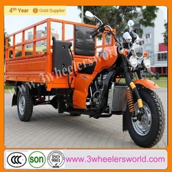 Chongqing Gold Supplier 200cc Gasoline Cargo Tricycle, Three Wheel Motorcycle For Cargo