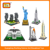 loz architectural diamond block, 3d puzzle puzzle cube architecture scale ,plastic figures 9378 9381 9384 9386 9387 9388