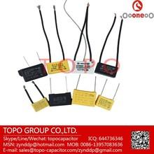 Free Samples! Polypropylene safe capacitor X2 for hair dryers application 224K275V