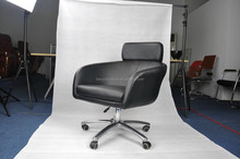 modern sofas lounge chairs/chrome cantilever frame office chair/office pu chair