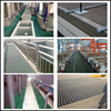 High strength Fiberglass Grating Walkway, FRP Grill form GN