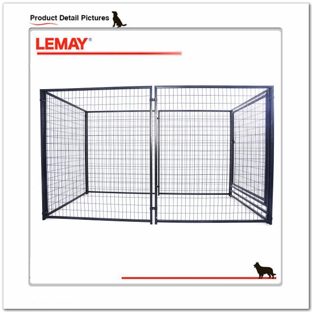 Hot sale 5' x 10' x 6' large outdoor best dog kennel wholesale