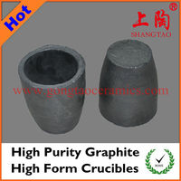Hihg Purity Graphite High Form Crucibles