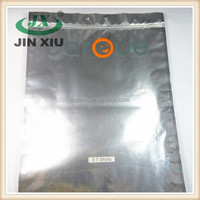 3-side sealed ziplock aluminium clothes packing bag for T shirts