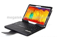 2014 Leather keyboard case for samsung galaxy note 10.1 P600