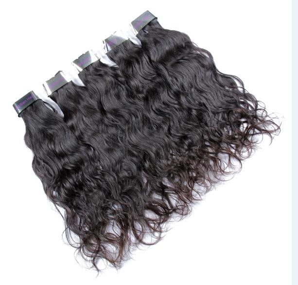 Livraison gratuite pour 4 regrouper un ensemble vente chaude vague de corps indien cheveux