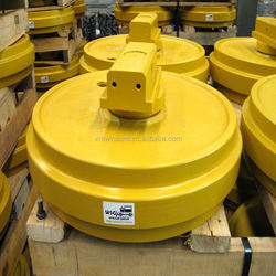 WSG Excavator front rollers/ guide wheels for Hyundai R200 competitive price