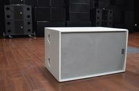 double 15 inch subwoofer for line array speaker