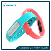 Smart bracelet for fitness tracking ,H0T879 silicon bracelet , led shinning smart bracelet