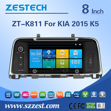 For Kia K5 2015 car dvd player with dvd/cd/mp3/mp4/bluetooth/radio receive/rds/tv/gps/3g!