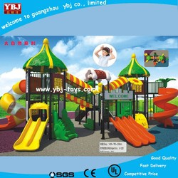 hot sale play structure/plastic playground/outdoor slide,kindergarten commercial outside playground equipment