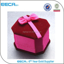 Multi Style Christmas Championship Velvet Ring Necklace Gift Box China Suppliers