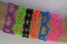 Top level useful france silicone bracelets