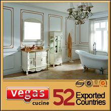 Deluxe hot sell colorful bathroom vanity