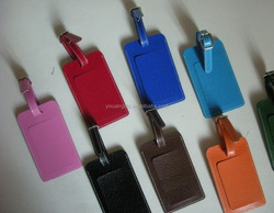 Holiday gifts, promotion gifts, Christmas gifts, travel gifts- personalized leather luggage tags