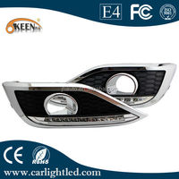 12v Led Fog Light With Amber Turn Signal For 2012 CRV