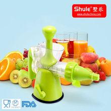 Food Grade Plastic Fresh Fruit Squeezer Machine of Shule