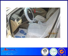 Disposable Clear Plastic Car Seat Cover