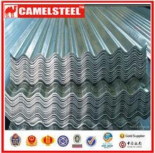 GI zinc coated sheet metal corrugated roof sheet for export