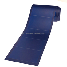 PVL 72W amorphous silicon flexible thin film solar panel,rollable solar panel