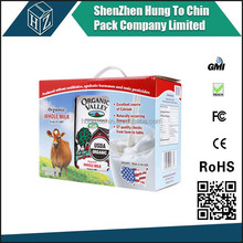 Hungtochin Pack direct manufacturer FREE SAMPLE corrugated milk packing cartons boxes