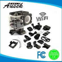 2015 factory hot seller sj4000 wifi action camera original with sj4000 accessory helmet mount, sticky ,hand strap