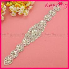 Wedding bridal headband rhinestone applique designs WRA-498