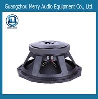 100mm/4inch coil 1200W 18 inch hot sale professional pa speaker 18 inch subwoofer box design MR18300150