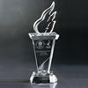 Wholesale custom made optical crystal academy award trophy