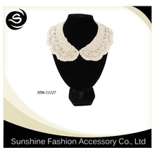 Wholesale Choker Necklace with Imitation Pearl Design