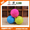tpr soft durable chew dog rubber toy