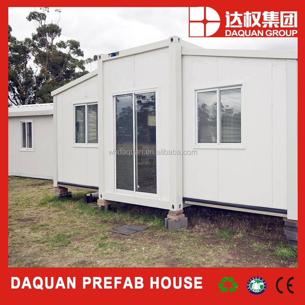 Daquan cheap prefab container house kits luxury prefab for Buy guest house