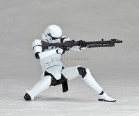 high quality star war action figure/PVC custom star war figure/custom military action figures