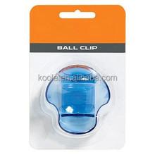 Durable ball pocket ball clip for tennis ball