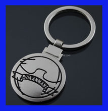 Good quality top sell metal clock keychain