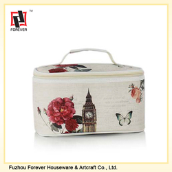 Printing PU Leather Fashion Cosmetic Bags wholesale
