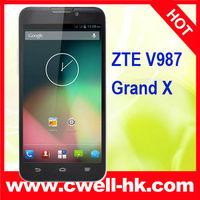 ZTE V987 MTK6589 Quad Core 5.0 Inch Corning Gorilla HD IPS Screen Grand X smart phone
