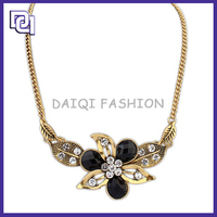 2015 Latest Design Necklace,Jewel Necklace With Diamond,Egyptian Flower Style Necklace
