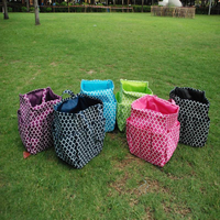 Free Shipping Quatrefoil Garden Tool Bag, Polyester Durable Utility Tote DOM-105177
