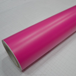 High Quality bubble free matte vinyl rolls red
