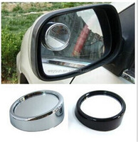 200pcs Wide Angle Round Convex Car Vehicle Mirror Blind Spot Rear View Messaging DHL Freeshipping
