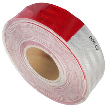 Wholesale New products 3M diamond grade dot-c2 red and white reflective tape for vehicles